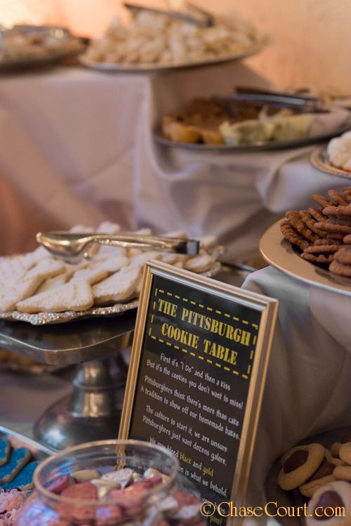 Pittsburgh Wedding Cookie Table Dessert Bar Unique Ideas Chase Court Catering