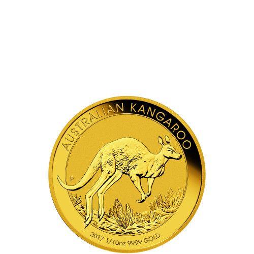 2017 1/10 oz Australian Gold Kangaroo Coins from JM Bullion™
