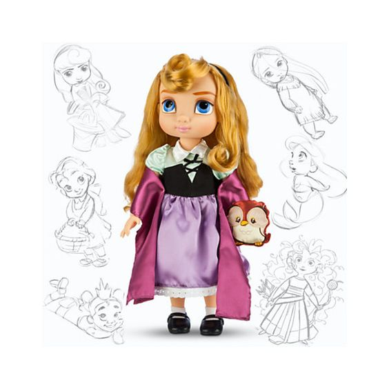 Disney Animators' Collection Aurora Doll ($25) ❤ liked on Polyvore featuring toys and disney