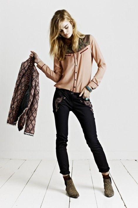MAISON SCOTCH KEY LOOK 7