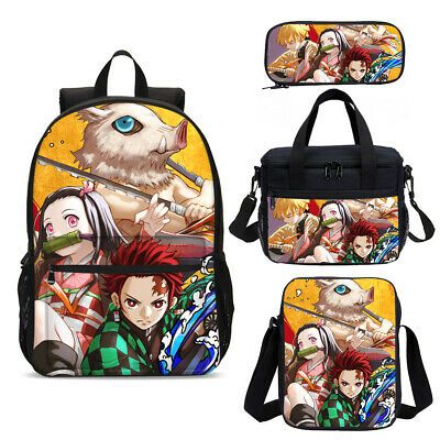 My Hero Academia School Backpacks Insulated Lunch Bag Shoulder Bag Pen Case Lot