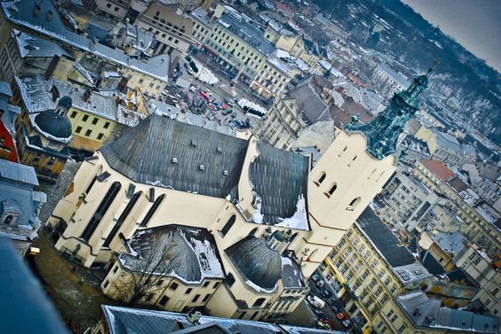 architecture of Lviv