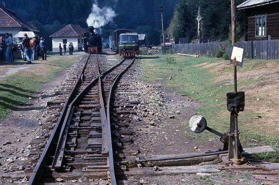 Bimmelbahn-Forum - Waldbahnen in Rumänien 1992, Teil 2