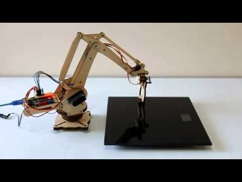 uArm Robot Arm Powered By Arduino - YouTube