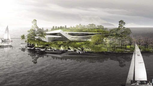 Innovative Self-sustaining Resort – Grand Jiaoshan Island Conceptual Masterplan