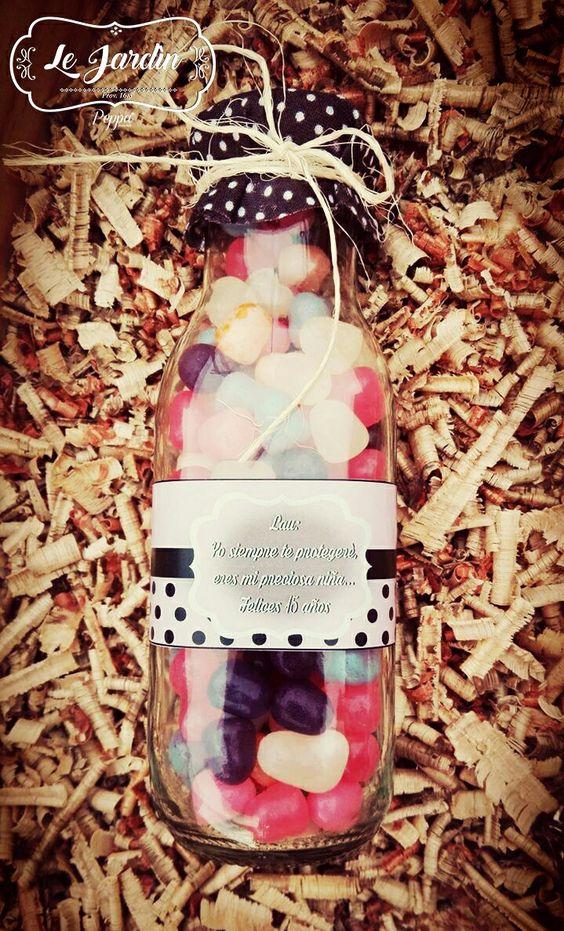 Botella Personalizada #LeJardìn Imagina, Crea y sorprende con un detalle personalizado en donde plasmes tus sentimientos. !!Más que un detalle, diseñamos tu historia