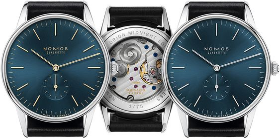 New Timeless Nomos: The Midnight Edition Orion