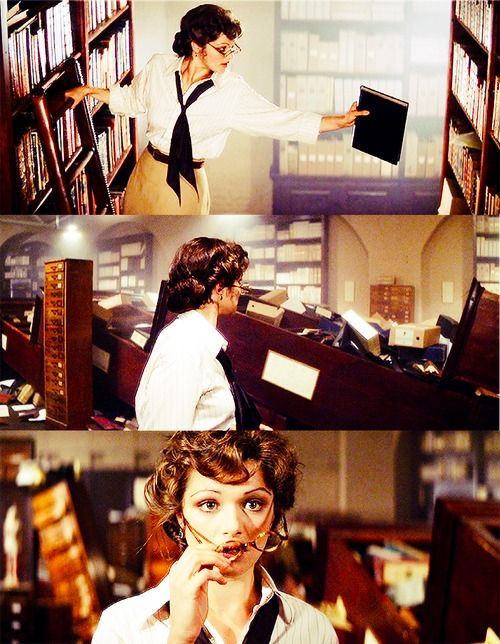 A Librarian is a search engine with a heart. I worked in a University Library-loved my job. My bosses allowed me to read when it was quiet. Working in the library gave me many skills, including reference knowledge of different subjects. I used my skills/knowledge to help Professors, researchers and students locate information/journals/books quickly. It helps when you have a photographic memory of everything you read. Luckily I never had any bookshelves fall over when I was there!