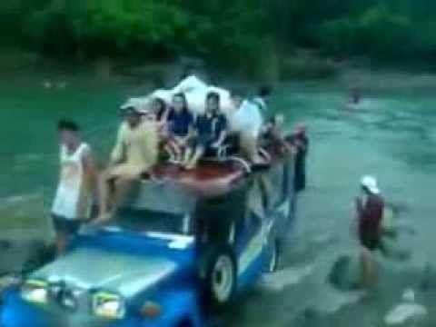 Range Rover, Cherokee, Land Rover vs Jeepney of Philippines - YouTube