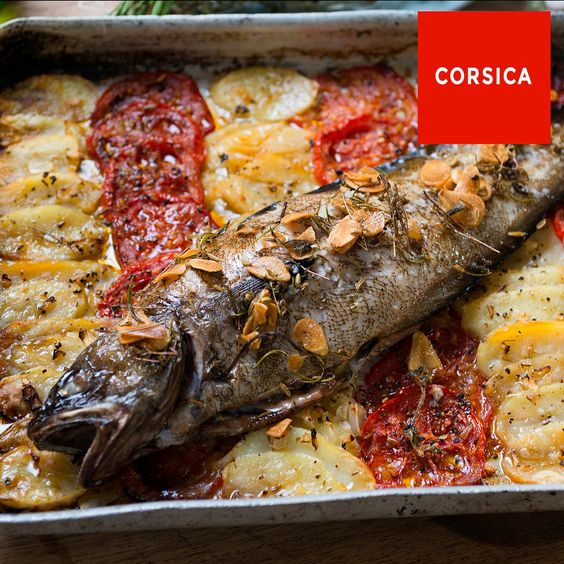 Roasted fish with aromatic olive oil recipe shops for Aromatic herb for fish