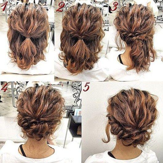 Short Hair Styles Updo Best 25 Short Updo Hairstyles Ideas On Pinterest  Short Hair .