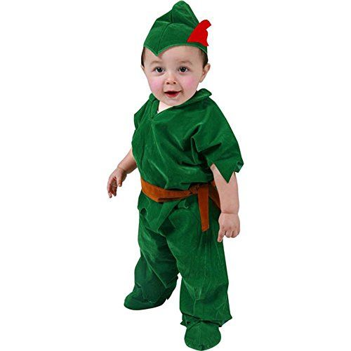 Baby Boy Infant Peter Pan Costume Green