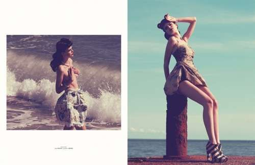 Vintage Summertime Shoots - The Gloss Magazine Ireland Spread by Olivia Graham is Simply Sweet (GALLERY)