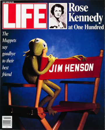 Life magazine captured the death of Jim Henson better than anyone. I admit, I cried when he died.