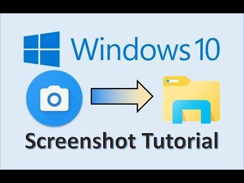 Windows 10 Screenshots How To Take A Screenshot On Pc Computer