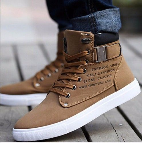 Shoes Leather Shoes Canvas Sneakers