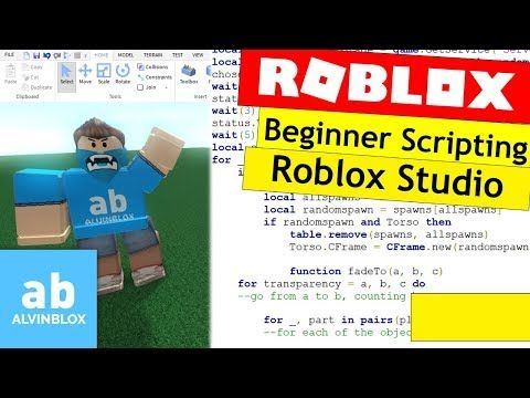 How To Script On Roblox For Beginners Roblox Studio Overview