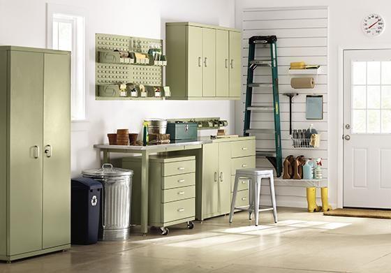 Martha stewart workbenches and bench storage on pinterest - Martha stewart cabinets catalog ...