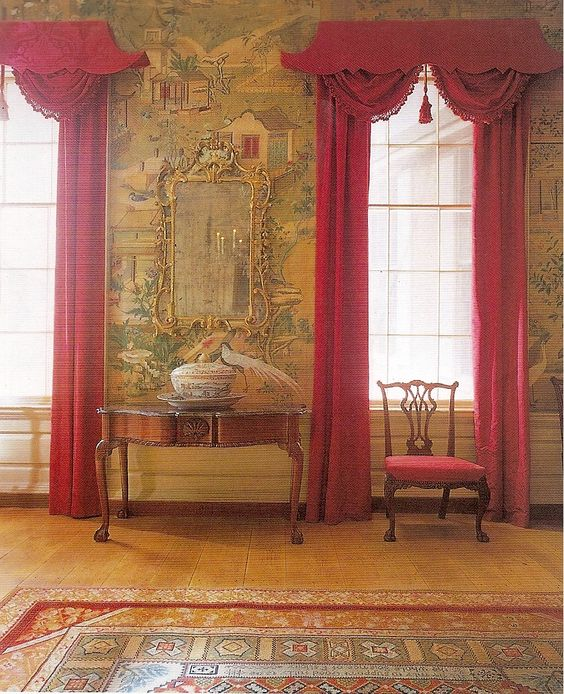 Curtains Ideas chinoiserie curtains : Chinoiserie Chic: Pagoda Cornices and Pelmets | Creative Cornices ...