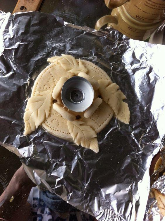 Pâte à sel décoration automne