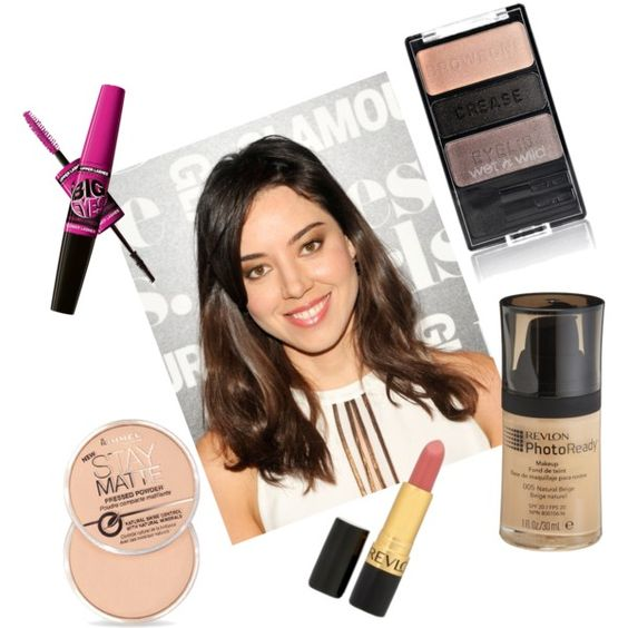 Aubrey Plaza #drugstore #makeup