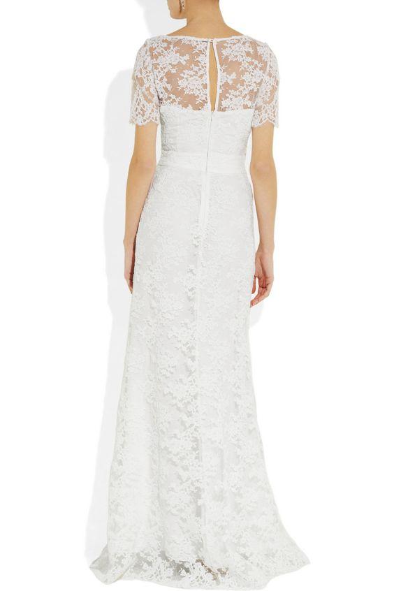 Issa Lace gown NET-A-PORTER.COM