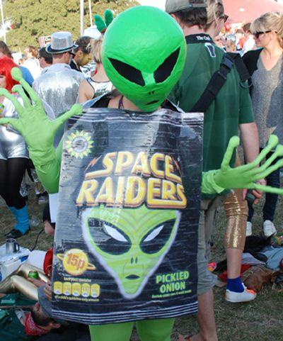 Bestival Space Raiders costume