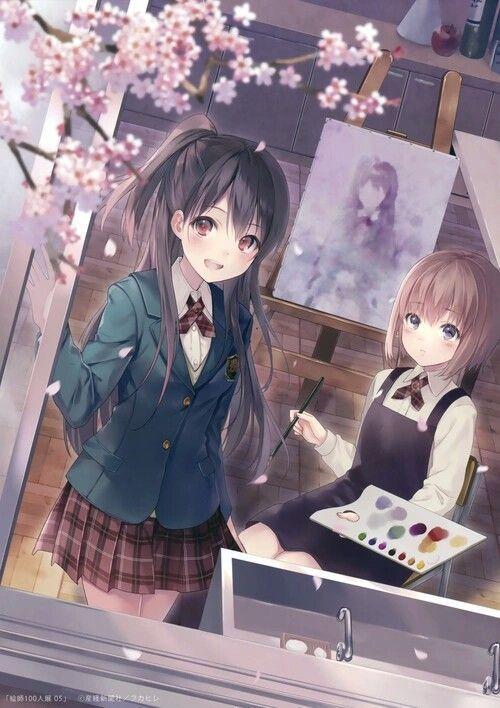 Đọc Truyện Ảnh Anime đẹp ( 1 ) - Anime girl group - Kirigaya Yuki - Wattpad - Wattpad