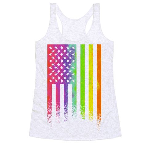 Show off your true colors, your patriotism, and support the LGBT community with this rainbow flag design perfect for any pride event, the 4th of July, activism, raising lgbtq awareness, pushing for equality, and celebrating everything that makes you love the beautiful, ever changing United States of America!