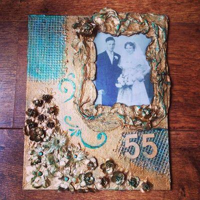 Folkje's freubels: 55 jaar getrouwd