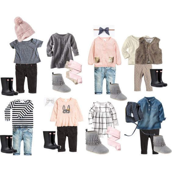 Girls Capsule Collection Ideas via Three Little Crowns Blog