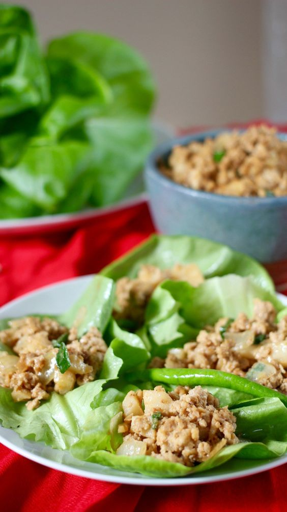 Chicken lettuce wraps recipe hoisin sauce