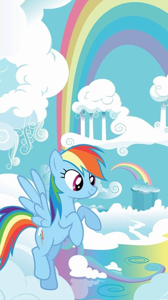 Rainbow Dash My Little Pony Wallpaper Mlp My Little Pony Rainbow Dash