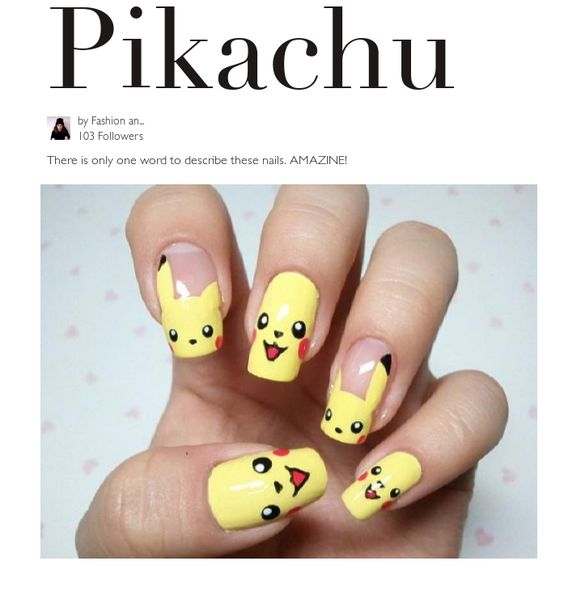 There is only one word to describe these nails. AMAZINE!