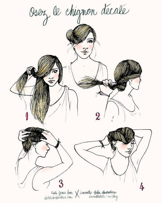 She Lets Her Hair Down: Tutorial :: Side Twist Chignon