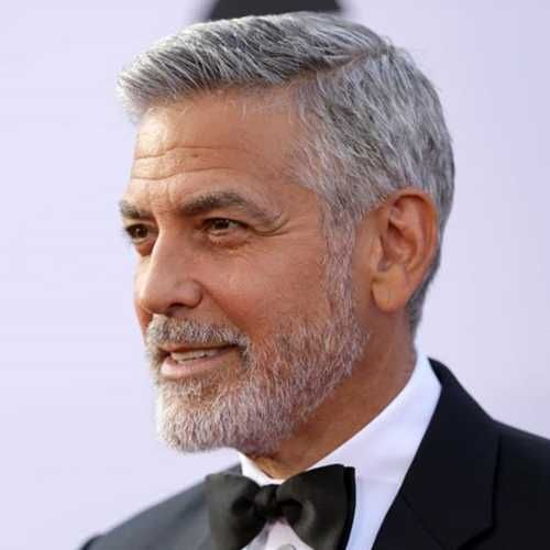 20 Coolest George Clooney Haircut Men S Hairstyle Swag George Clooney Haircut Mens Haircuts Short Grey Hair Men