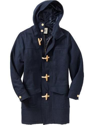 Nwt new mens sz medium old navy blue winter wool duffle toggle
