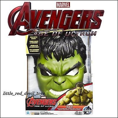 New & #boxed hasbro #marvel #avengers age of ultron the hulk voice changer mask ,  View more on the LINK: http://www.zeppy.io/product/gb/2/231861531275/