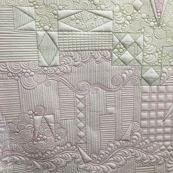 Krista Withers Quilting - Ghost Shapes Class Sample: