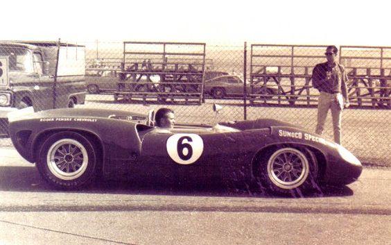 Mark Donohue, Team Penske Sunoco Lola T70-Chevy, 1966