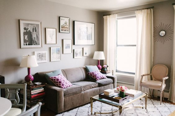 Interior Designer and Blogger Nicole Gibbons of So Haute #theeverygirl #interiors #inspiration #greywalls