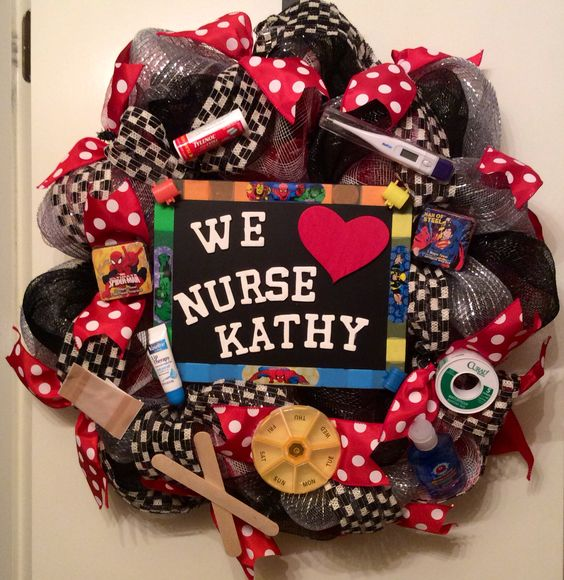 Nurse wreath....