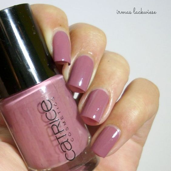 catrice - think in dusky pink