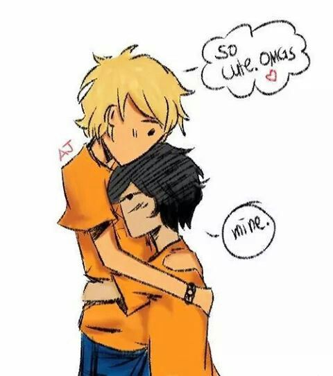 I don't really ship it but u thought this was cute Will & Nico