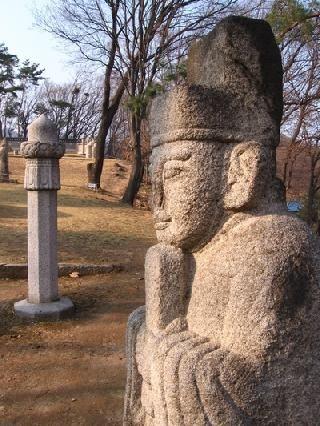 Korea del Sur Seúl Tumbas Reales de la Dinastía Yi  tumba yi dynasty royal tumbas