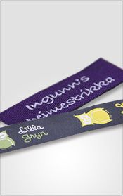 Fully Customized Woven Labels