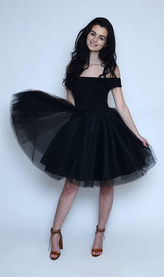 Buy j j Studio Margot Black Tutu Dress - Jones and Jones Fashion ...