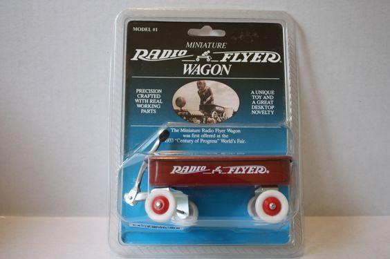 (TAS021210) - Miniature Radio Flyer Wagon Model #1