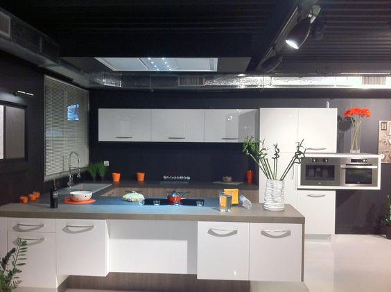 Campana extractora de techo pando e 250 cocinas con for Campana extractora de techo
