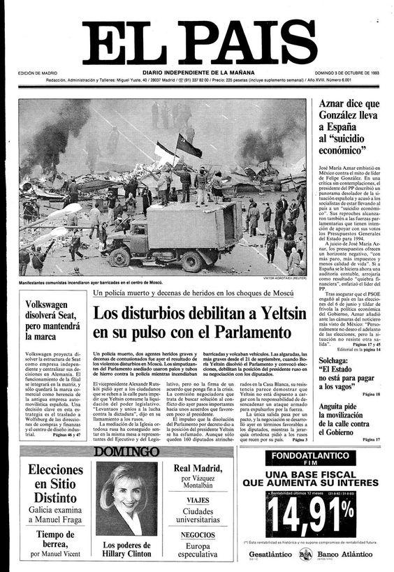 3 de Octubre de 1993